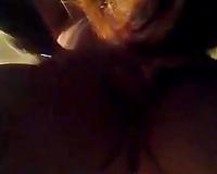 Nerdy slut sucking my knob deepthroat in dilettante video