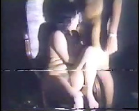 Old homemade movie scene of curvy Egyptian wench getting fucked hard