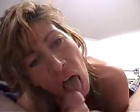 Coworker's hawt BBC slut treated me with a sloppy oral sex