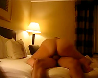 Kinky large bottomed dilettante Married slut rides my strong shlong in hotel