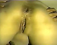My tattooed svelte housewife squirts during coarse anal sex