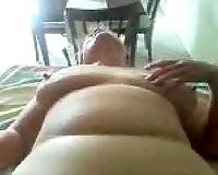 Wicked fist fucking my naughty chubby wife's wet crack and butthole