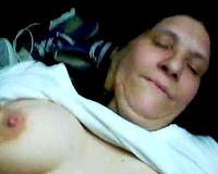 Skanky big beautiful woman tenant gives me sloppy oral pleasure engulfing my dark rod