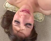 Torrid brunette hair slut in underware exposes her gaping dark hole during the time that anal pounding