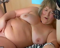 This concupiscent big beautiful woman granny is a large paramour of anything perverted