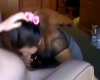 Black haired mother I'd like to fuck engulfing my rod balls unfathomable in arousing POV movie