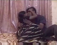 Curvy black skin Indian cheating wife disrobes on livecam and pleases her fellow