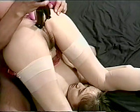 Ugly japanese slut acquires gangbanged by marital-device in advance of riding wang