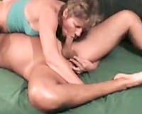 Blond haired whorable horny white wife of my buddy did not mind engulfing his 10-Pounder