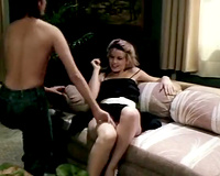 Vintage lesbo sex movie featuring 2 luscious gals