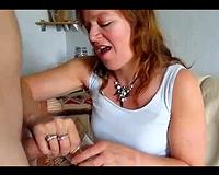 Mature non-professional cum gurgler in freaky cum eating compilation
