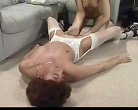 Extremely spoiled lesbian babes take up with the tongue every other's wet cracks in 69 position
