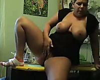 My thick big beautiful woman black cock sluts rubs her bald pussy showing her biggest pointer sisters