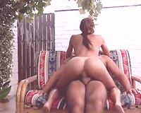 Ardent super spoiled and voracious brunette hair was topping corpulent prick