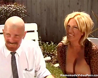 Outstanding and skillful breasty milf Kennedy meets a legend