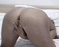 Tempting masturbation solo of my rapacious MILF wife