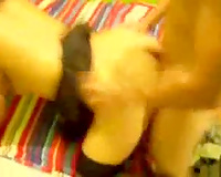 Skinny Mexican college playgirl getting pounded doggy style