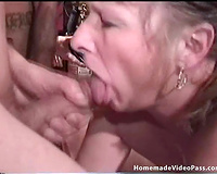 Homemade interracial group sex scenes with salacious milfs