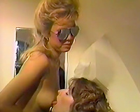 Two hot and perverted lesbo sluts loved to please every other