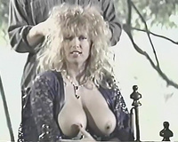 Retro porn compilation with bosomy honey and torrid 3some action