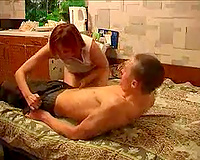 Sex in my bedroom with bodacious Russian redhead mother I'd like to fuck