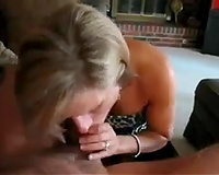 Neighbor's hawt blond Norwegian mother I'd like to fuck black cock sluts gives me oral-sex