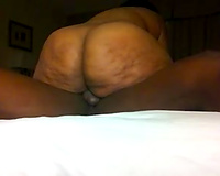 Me and my bootylicious dark black cock sluts have enjoyment on camera