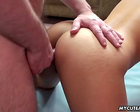 Exotic Filipina slender hotwife drilled in the chocolate hole with miniature wang