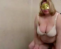 SBBW older Russian wench forved me to fuck her old bawdy cleft