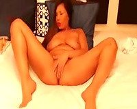 Insane Asian hot porn actress acting on her private web camera show
