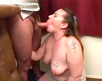 Cock engulfing at the office of her kinky boss