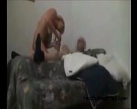 Hot blondie eats rod and now it is not quite sure for sex