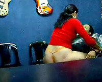 Awesome sex with a large ass cougar in the conference room