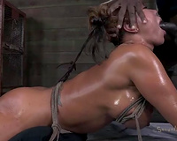 Filthy older doxy with hawt arse and large milk sacks exploited for bang