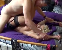 Shagging insatiable MILF in a doggy position in dilettante episode