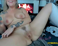 Big Booty Upskirt Blonde Fat Pussy Squirting