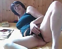 Mature big beautiful woman wench horny white wife cheats on her hubby with me