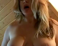 Pregnant Slutty Wife With Big Belly Rides Monster Black Dildo