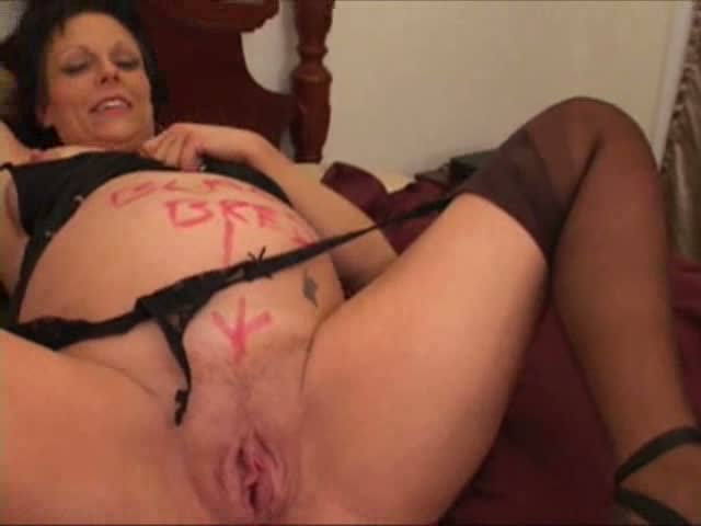 Horny pregnant wife