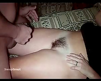 Aussie Cum on Legs and Pussy BBC slut getting it from concupiscent stranger