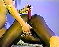 A Mature Blonde Sucks and Gets BBC Anal Vintage Amateur Sex Tape