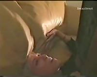 Blond Wife Gets a Creampie from dark lover who uses her for sex