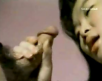 Great oral stimulation from Kitty Yung