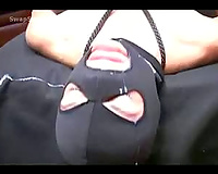 Black Mask Facial for skinny older after being drilled