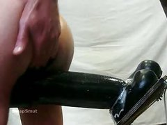 Another one massive sex tool in my booty hard to make no doubt of it will fit but does