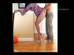 Crossdresser doxy takes a stranger up booty homo dilettante homemade porn