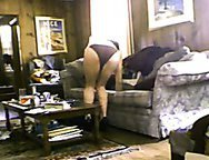 Wife Wants Black Cock-Hidden cam caught slutty wife toying herself