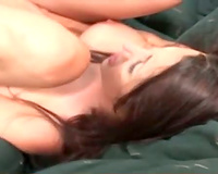 She relaxes for large dark 10-Pounder anal sex