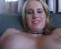 Curvy white Married slut takes dark rod in the arse