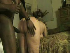 White Wife Bitch Gets Oiled Up-Amateur Interracial Porn